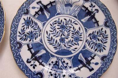 2 1800 Japanese Plates  Blue And White  Sale!!!!!!!       25.0O Off