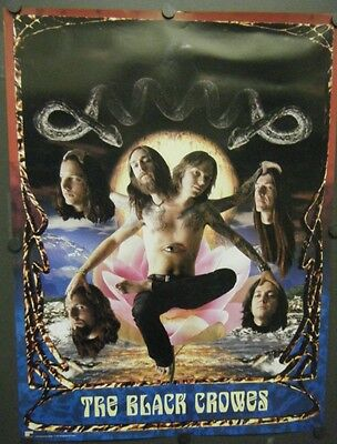 The Black Crowes Promo Poster 1996 Three Snakes And One Charm