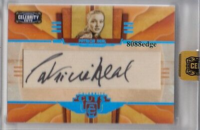 2008 Celebrity Cuts Auto: Patricia Neal #23/25 Autograph Broadway Tony Award