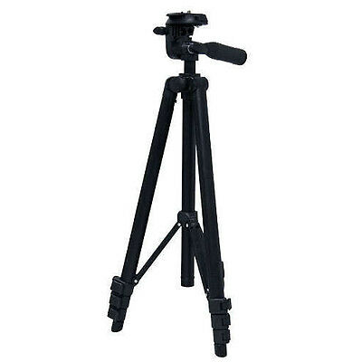 Lightweight Full Size Aluminum Alloy Photo/Video Camera Tripod with Pan Head NEW