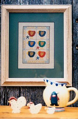 SIX FAT HENS || Cross Stitch Pattern || HATCHED & PATCHED