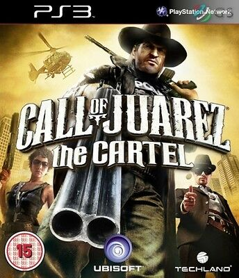 Call Of Juarez The Cartel PS3 * NEW SEALED PAL *