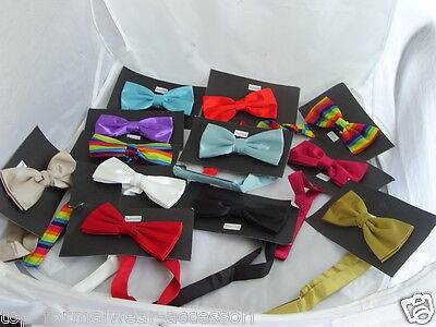 Quality>Shiny Polyester Pre-tied Bow Tie>Wedding/Formal-> P&P 2UK> 1st Class-Any