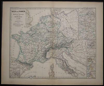 1880 Antique France Empire 900 Northern Italy Corsica
