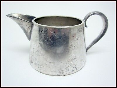 Antique Sheffield Silverplate Reproduction Mini Creamer Cream Pitcher