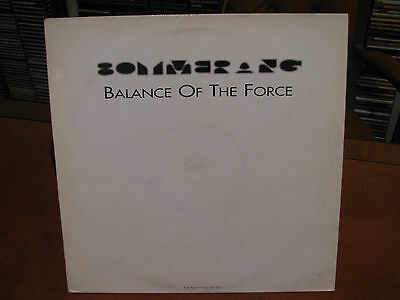 BOYMERANG balance of the force -2 LP- DRUM'N'BASS- promo- fino 2 lp spese fisse