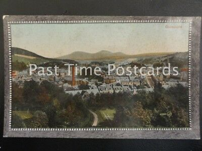 c1909 - Galashiels - view overlooking the town