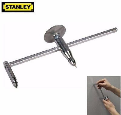 NEW Stanley Adjustable 400mm Plasterers/Plasterboard/DryWall Circle/Hole Cutter