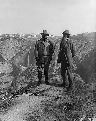 President Theodore Roosevelt And John Muir 8X10 Photo