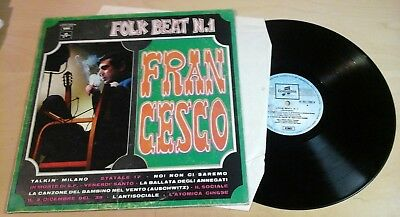 FRANCESCO GUCCINI - FOLK BEAT N.1 emi columbia MONO 3 C052-17326 M  LP 1970 IT
