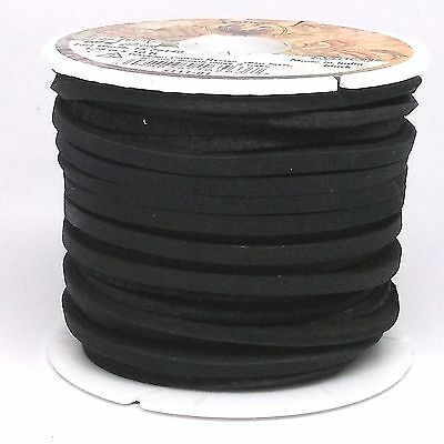"Latigo Lace Black 1/8"" X 50 Ft 5111-01"