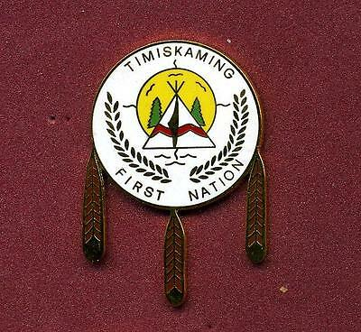 POLICE PIN  TIMISCAMING FIRST NATION