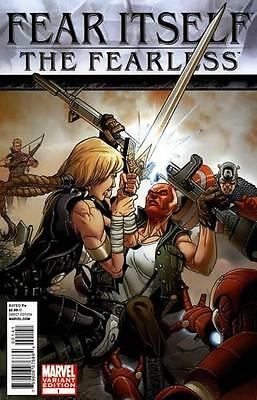 Fear Itself The Fearless #1 Larroca Retail Incentive Variant 1:100 Marvel