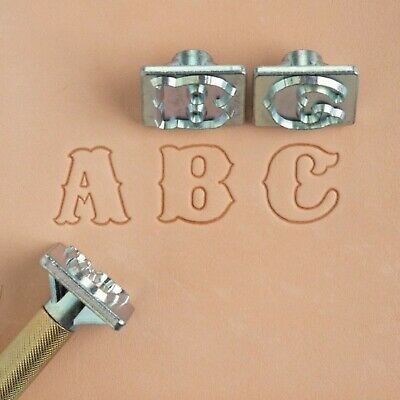 Craftool Standard Alphabet Stamp Set 8131-00 by Tandy Leather