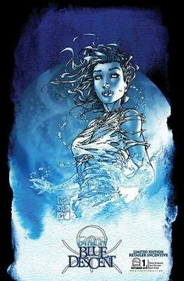 Fathom Blue Descent #1 Cover C Michael Turner Retail Variant Aspen Comics