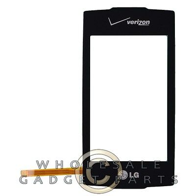 Digitizer for LG VX10000 Voyager Black Front Glass Touch Screen Window Panel