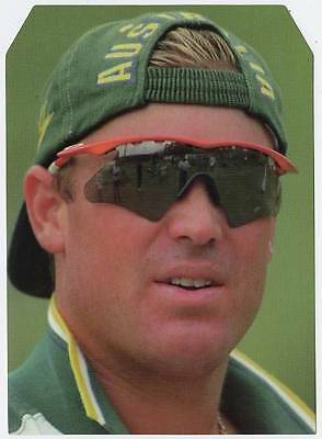 Scarce Trade Card of Shane Warne, Cricket 1997