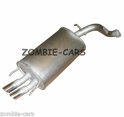 MG ROVER MGZR 1.8 VVC Exhaust Rear Back Box NEW