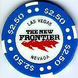 New Frontier Las Vegas $2.50 Uncirculated Casino Chip