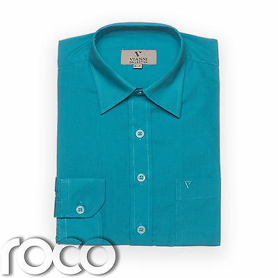 Boys Aqua Shirt, Childrens Shirts, Kids Shirts, Formal Shirts, Dress Shirts