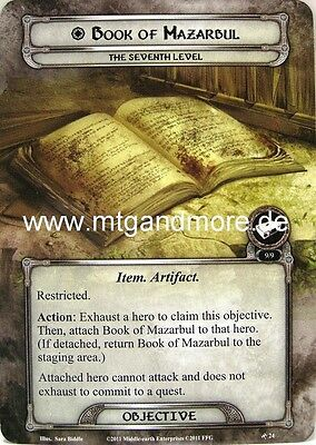 Lord of the Rings LCG  - 1x Book of Mazarbul  #024