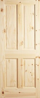 4 Panel Raised Knotty Pine Stain Grade Solid Core Rustic Wood Interior Doors New  sc 1 st  PicClick & 4 PANEL RAISED Knotty Pine Stain Grade Solid Core Rustic Wood ...