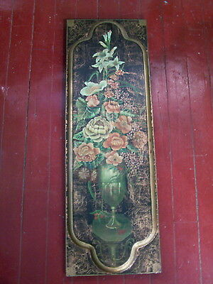 Painted Wooden Panel-Screen Thailand