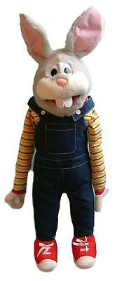"rabbit puppet 26"" Ventriloquist.Play,Educational.Moving mouth and arm rod"