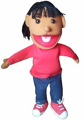 "puppet girl nita 15"" Ventriloquist.Play,Educational.Moving mouth & hands"