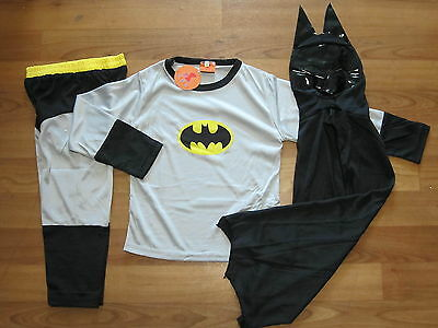 Brand New - BATMAN Costume Sizes 2,3,4,5,6,8,10 **Post from Melbourne*