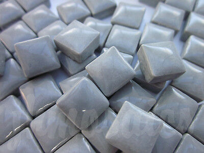 100pcs - 110grams Micro Ceramic Mosaic Tiles Dark Grey BZ1