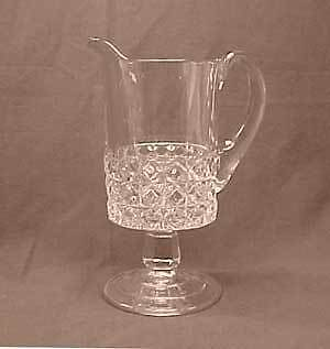 Mascotte Early American Pattern Glass Cream Pitcher