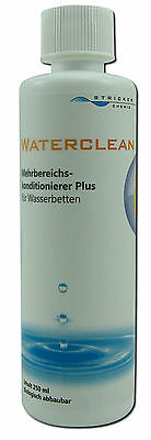 Wasserbetten Conditioner Waterclean Plus - Rundflasche - Stricker Chemie 250 ml