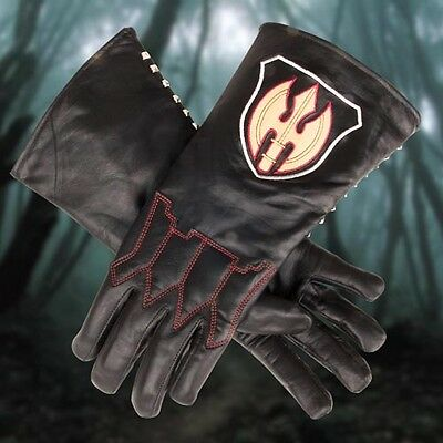 Sleepy Hollow Headless Horseman Gloves Lined Leather - Medium