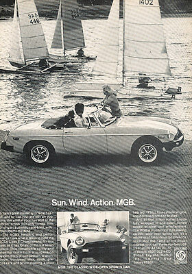 1978 MG MGB Roadster - Classic Vintage Advertisement Ad A89-B
