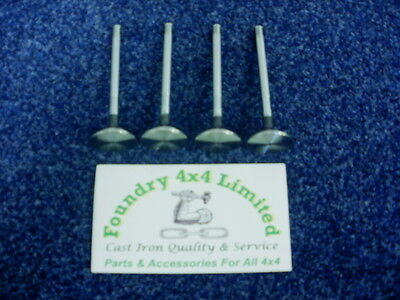 Land Rover Discovery 300Tdi Exhaust Valves Set of 4  ERR1156