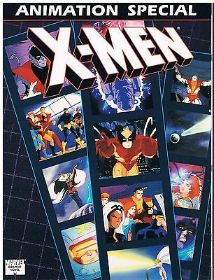 Marvel Graphic Novel The X-Men Animation Special