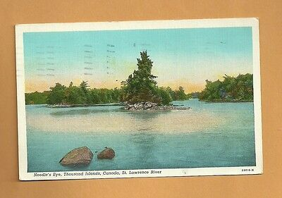 Needle's Eye Thousand Islands, St  lawrence River, Hallam & Vesty, Ogdensburg 45