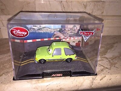 DISNEY PIXAR CARS 2 ACER DIECAST VEHICLE FREE USA SHIPPING