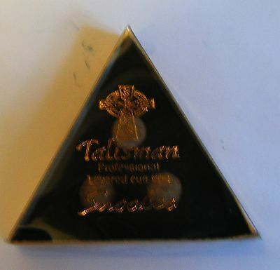 1 x Talisman Cue Tip for Pool and Snooker Cues NEW All Sizes All Types