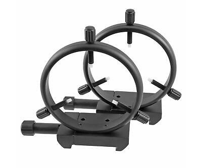 "Celestron 125mm guide scope rings with 3"" prism clamps, CE820860"