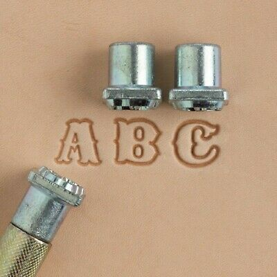 "Craftool Standard Alphabet Stamp Set ½"" 8130-00 by Tandy Leather"