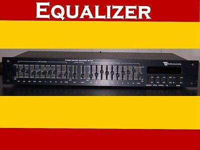 TEI Electronics 10-Band Stereo Graphic Equalizer 36-165 Pro