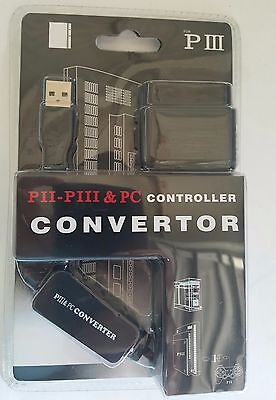 PS2 Playstation 2 USB Controller Converter for Playstation 3 PS3 Console G88