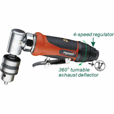"""Rdgtools 3/8"""" In-Line Air Angle Air Grinder / Drill"""