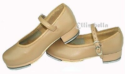 Ellis Bella Tan tap dance shoes child to adult