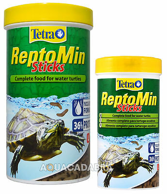TETRA TETRAFAUNA REPTOMIN 55g 130g REPTO MIN TURTLE FOOD FLOATING STICKS
