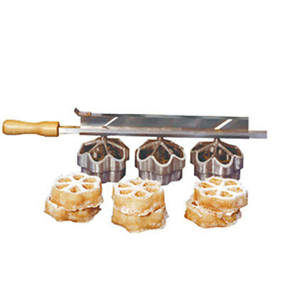 French Waffle Mold EZ-OFF Triple #8043 by Gold Medal Products