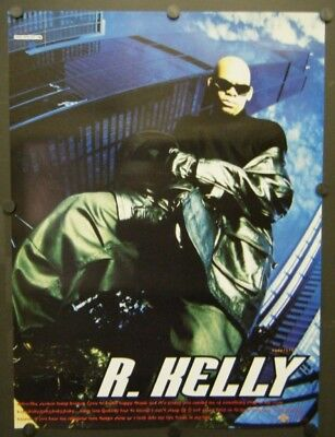 R  KELLY PROMO Poster 1995 Self-Titled Album You Remind Me Of Something