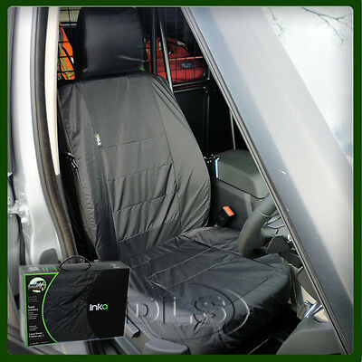 Land Rover Discovery 4 Front Black Waterproof Seat Cover Set (Vplas0029Pvj)